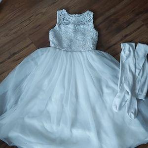 Holiday / Wedding Flower Girl Dress Size 7-8